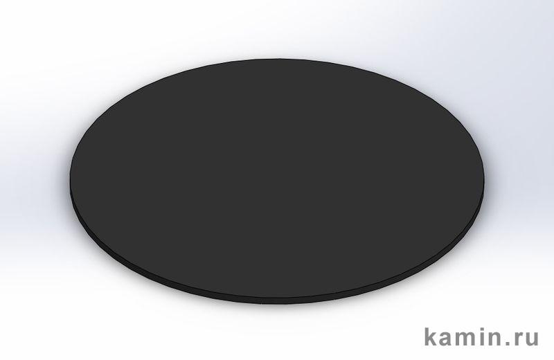 Домотехника: Центральный камин Doria (Traforart), листовое покрытие для пола, круглое
